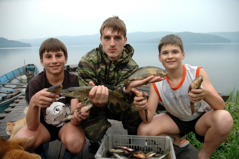 рыбалка тиберкуль