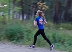 Сосновоборск. Кросс 28 км.