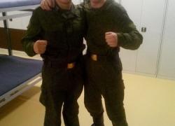 Наши в армии