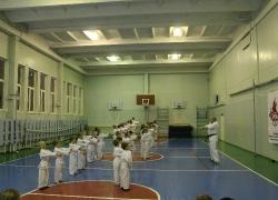 Посвящение в каратисты. Гимназия № 8. 16.11.2019_3