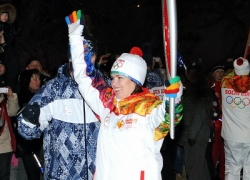 Встреча Олимпийского огня