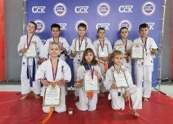 Новогодний турнир в Красноярске
