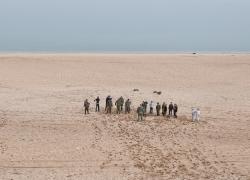Летний лагерь на озере Байкал